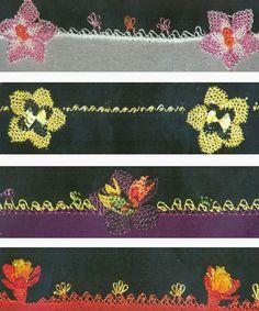 Oya... Crochet Edgings, Bead Crochet, Crochet Hooks, Point Lace, Tatting Lace, Needle Lace, Silk Thread, Ancient Art, New Art