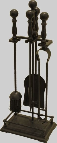Add a touch of class to your hearth with this period companion set. There are 4 tools: Brush; Poker and Tongs. All slot neatly into a metal stand. The entire set is finished in black. Tool Stand, Cosy Night In, Drop Down List, Bbq Tools, Fireplace Accessories, Hearth, Home And Garden, Colours, Ceiling Lights
