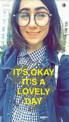 Dodie Clark on Snapchat