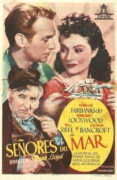 """Señores del mar (1939) """"Rulers of the Sea"""" de Frank Lloyd - tt0031883"""