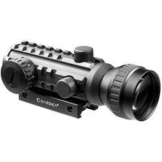 This tactical dot sight rifles scope from Barska is designed specifically for shooters that need a versatile scope for both short-distance quick acquisition shooting and medium to long distance shooti