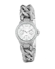 """Spotted this Michael Kors Women's """"Mini Camille"""" Watch on Rue La La. Shop (quickly!)."""