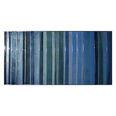 "Blue Levels | Grand Scale | Art by Type | Art | Z Gallerie 55.5""W x 24.5""H"