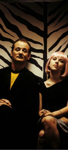 "Bill Murray & Scarlett Johansson - in ""Lost in translation"", one of My-Life-Films"