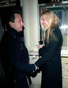 carolyn bessette kennedy with Anthony Radziwill