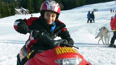 Sneeuwscooter-Park voor kids Park, Winter, Kids, Winter Time, Young Children, Boys, Parks, Children, Boy Babies