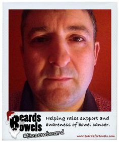 Shaun Marshall supporting #BeardsForBowels during the month of #Decembeard http://www.beardsforbowels.com