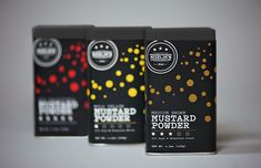 Kozlik's Mustard Powder on Packaging of the World - Creative Package Design Gallery