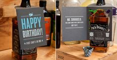 Shot Glass Card - the perfect accessory to the best gift for guys - BOOZE!