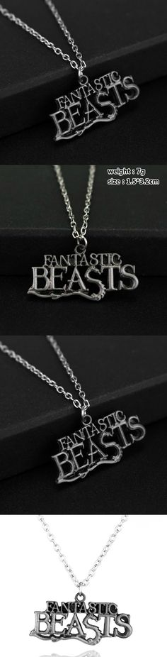 The Fantastic Beasts Pendant Necklace! Click The Image To Buy It Now or Tag Someone You Want To Buy This For. #TheFantasticsBeast