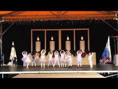 Vánoční taneční vystoupení - ZUŠ Lelekovice (školka), nám.Svobody 29.11.2015 - YouTube