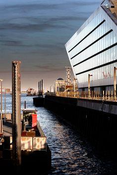 Hamburg Dockland. Amazing Light.