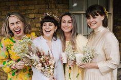 Golden girls captured by Lisa Jane Photography 🌞🌞🌞 Creative Wedding Photography, Film Photography, London Girls, London Wedding, Bridesmaid Dresses, Wedding Dresses, Hopeless Romantic, Pretty Pictures, Lisa