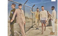 Male Fashion Trends: Mariano Vivanco captura las mejores colecciones de verano para GQ UK