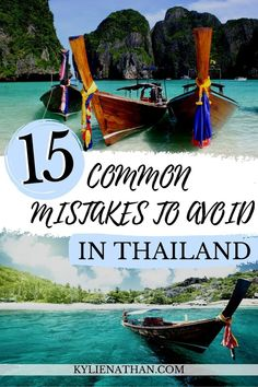 If you're planning a solo trip to Thailand, learn what common mistakes tourists make and how to easily avoid them! mistakes in Thailand | mistakes to avoid in Thailand | things to know before visiting Thailand | common mistakes to avoid Thailand | Thailand tips travel | Thailand tips first time | travel to Thailand tips | tips for Thailand
