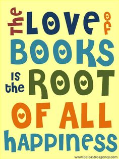 Love of books......
