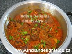 lamb chops chutney - south african