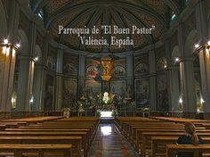 As peaceful as it is beautiful.  Parroquia de El Buen Pastor. #valencia #valenciachurches #spain