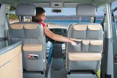 storage pockets behind front seats