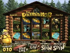 Let´s spin Slot machine game The Exterminator free online…