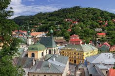 Historic mining town Banska Stiavnica, Slovakia by Elenarts - Elena Duvernay photo Famous Places, Travel Photos, Fine Art America, Mansions, World, House Styles, Travel Pictures, Mansion Houses, The World