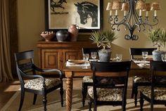 Ethan Allen dining rooms.| Explorer Dining Room. Ethan Allen furniture