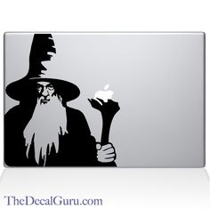 Find the Gandalf the Grey Macbook decal at the Decal Guru online store.