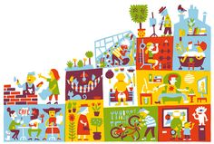 Linjamiehet - Timo Mänttäri - Illustrations