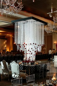 Fabulous Red Black and White Wedding by Nadia D Photography