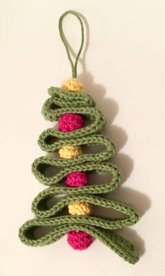 A personal favourite from my Etsy shop https://www.etsy.com/uk/listing/553429600/crochet-christmas-tree-christmas-tree