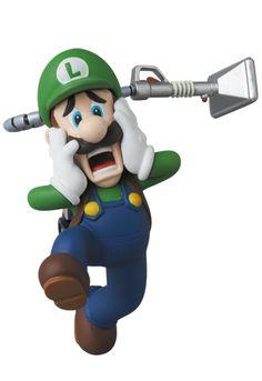 Luigi, Luigi's Mansion Dark Moon figure - MEDICOM TOY, 2014