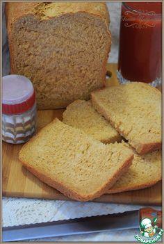 Томатный пшенично-ржаной хлеб с черным перцем - кулинарный рецепт