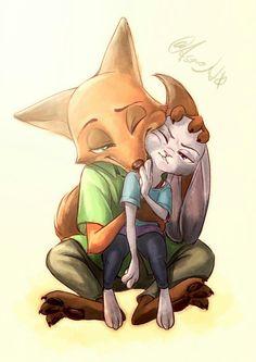 Nick & Juddy.