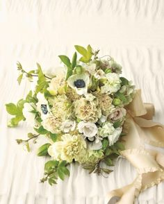 """See the """"Carnation Bouquet"""" in our Elegant and Inexpensive Wedding Flower Ideas gallery"""