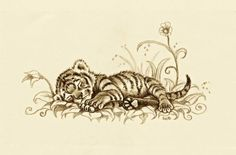 Tiger Cub 2 by EsthervanHulsen on DeviantArt