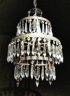 Crystals chandelier