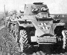 The Csaba was the only Hungarian-built armored car used during WWII. Ww2 Pictures, Military Pictures, Army Vehicles, Armored Vehicles, Armoured Personnel Carrier, Military Units, Armored Fighting Vehicle, Ww2 Tanks, War Machine