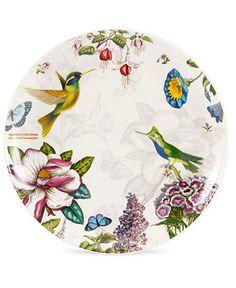 Portmeirion dinnerware, botanic hummingbird @macy's.com