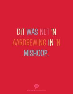 Aardbewing in 'n mishoop