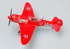 "Easy Model 1:72 Lavochkin LA-7 ""Red 14"", Maj. Amet Chan Sultan, 9th GFAR, Russian Air Force"