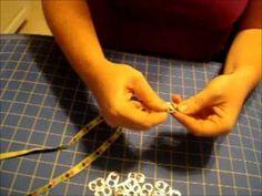 Soda Tab Bracelet Tutorial Recycle Crafts, Repurpose, Reuse, Diy Crafts, Wire Jewelry, Jewelry Crafts, Jewellery, Soda Tab Bracelet, Can Tabs