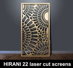 HIRANI 22 laser cut screens – laser cut screens for architectural and home interiors Laser Cut Screens, Laser Cut Panels, Laser Cut Metal, 3d Laser, Metal Panels, Laser Cutting, Living Room Partition Design, Room Partition Designs, Jaali Design
