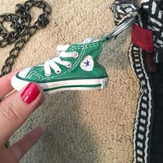 Shop Women s Converse Green White size OS Accessories at a discounted price  at Poshmark. 25de0231d