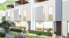 #nacion #building #residential #monterrey #méxico #render #rendering #3D #villas