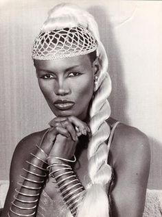 The incredible Grace Jones.