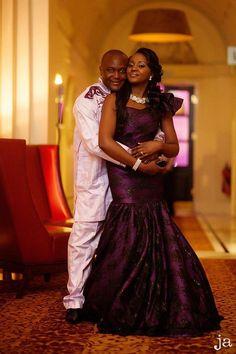 #Traditional #Wedding #engagement #purple #attire #bride #africa