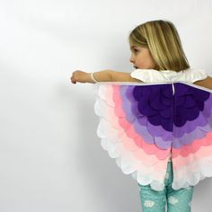 The Bird Wings  Petals   Handmade by sparrowandbcostumery on Etsy