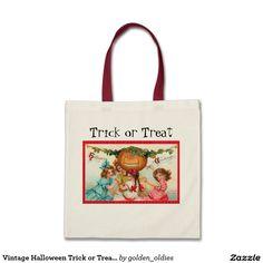 Vintage Halloween Trick or Treat bags!