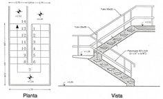 Trade range s3w3w33n winder staircase l h no handrails - Escaleras de hormigon ...