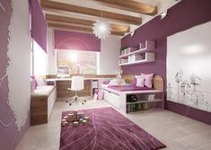 Návrhy dětských pokojů   AŤÁK DESIGN